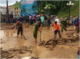 Đoàn công tác kiểm tra, phối hợp chỉ đạo công tác ứng phó với mưa, lũ quét, sạt lở đất tại các tỉnh Tây Bắc