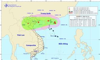 Công điện số 37/CĐ-TW hồi 12h30 ngày 13/8/2018 của BCĐ TWPCTT - UBQG ƯPSCTT&TKCN ứng phó với bão số 4